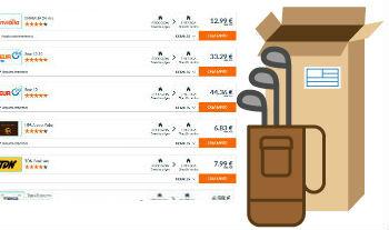 Compara precios para enviar palos de golf por paquetería