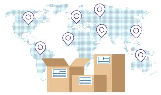 Envíos internacionales por mensajería