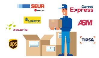 Agencias de transporte para enviar paquetes al extranjero