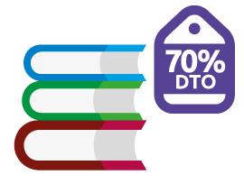 Enviar libros por correo con descuentos de hasta el 70%