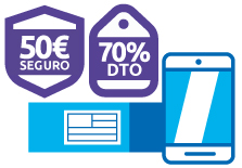 Descuentos en el envío de móviles con Sendiroo