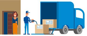Enviar paquete pesado con transporte puerta a puerta