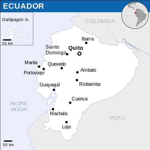 Envíos a Ecuador