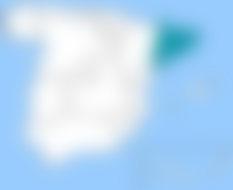 Barcelona, situada en el oriente de la península, facilita envíos urgentes