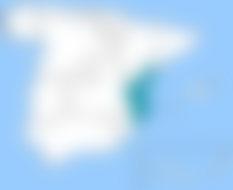Valencia, situada en el oriente de la península, facilita envíos urgentes